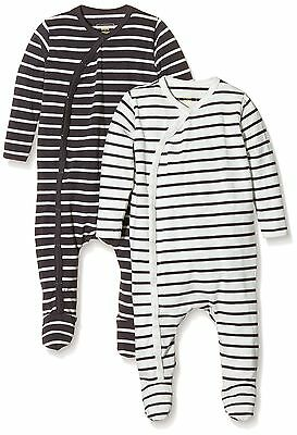 (TG. 86) MINI MIZE by MAMLICIOUS - MMSTAR FOOTED NIGHTSUIT L/S-U-2 PACK (b6S)