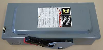 Square D H321 N Heavy Duty Safety Switch 30A 240V Fusible