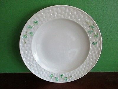 Belleek Porcelain Shamrock Cake Plate  Plate / Belleek Shamrocks