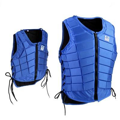 Men Women Kids Horse Riding Waistcoat Safety Equestrian Body Protection Vest
