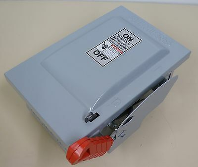 Siemens Hnf361 Heavy Duty Safety Switch 30A 600V Non Fused