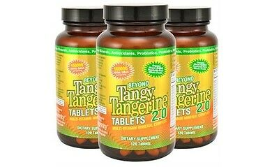 Youngevity Beyond Tangy Tangerine 2.0 Tablets - 120 Tablets (3 Pack)