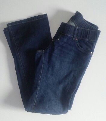 Old Navy Size Small S Regular Low Waist Stretch Maternity Jeans Boot Cut