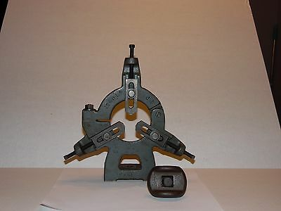 """Nice 9"""" South Bend Steady Rest With Bed Clamp"""