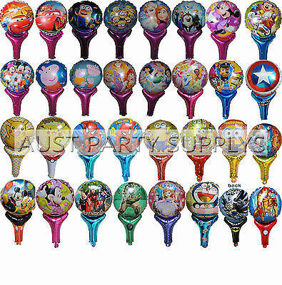 Airfill Handled Balloon Birthday Party Supplies Lolly Bag Treat Box Filler Gift