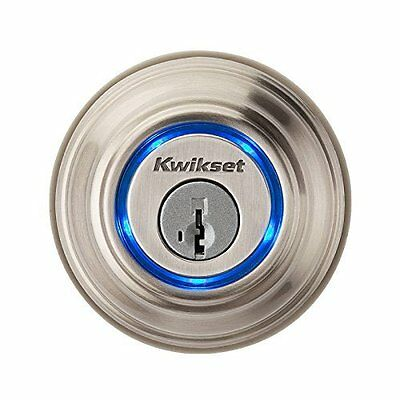 Kwikset Kevo 925mm Satin Nickle Bluetooth Enabled Deadbolt - Pickup Available