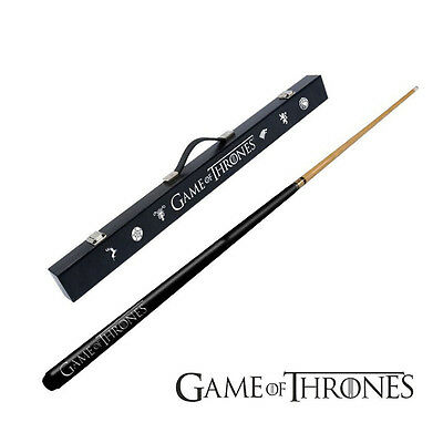 "Formula Game of Thrones Pool Snooker 57"" Cue & Case Collector Set AU"