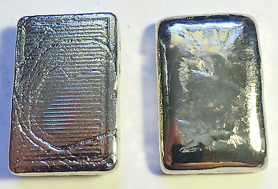 """1 OZ 999 Pure BISMUTH SPM Bullion """" Chunky Style"""" Ingot (Great Investment)"""