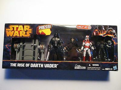 Hasbro Star Wars The Rise Of Darth Vader Collection Target Exclusive Mint In Box