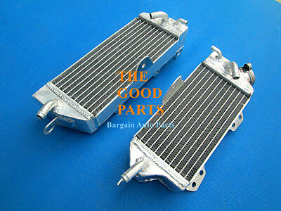 FULL ALUMINUM RADIATOR For KAWASAKI KX250 KX 250 2 STROKE 1990-1993 90 91 92 93
