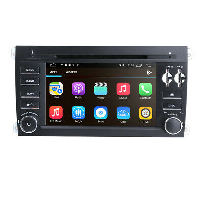 """7"""" HD Android 7.1 Car DVD Player GPS Sat Nav For PORSCHE CAYENNE 2003-2010 DAB+"""