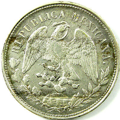 1902 MoAM  Mexico  Peso  Km# 409.2  Silver  A Very Nice Plus Coin