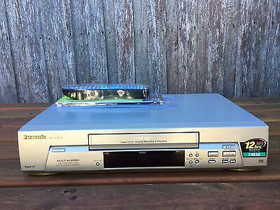 Serviced Panasonic NV-SJ200 Video Recorder Player + REMOTE VHS Player VCR B