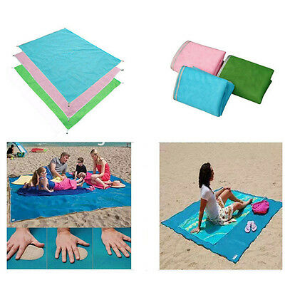 Camping Quick Sand Beach Mat Free Large Waterproof Outdoor Picnic Rug Blanket