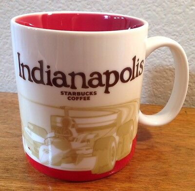 Indianapolis - Starbucks Coffee Mug, 2012, 16 oz