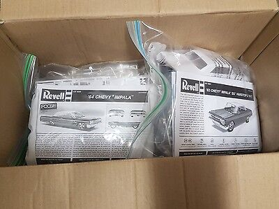 bulk lot of model car kits no:2