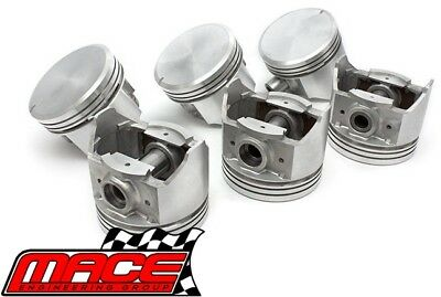 Set Of 6 Standard Replacement Pistons Ford Falcon Au 4.0L I6