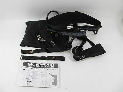 MAD ROCK HOTSE TYPE C SIT HARNESS CLIMBERS SIT HARNESS MEDIUM w POUCH