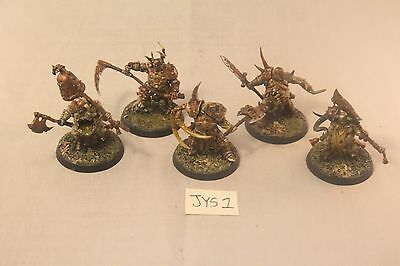 Warhammer Warriors of Chaos Putrid Blightkings Well Painted