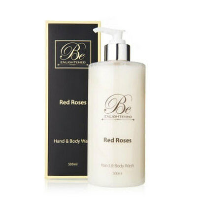 New Red Roses Hand & Body Wash by Be Enlightened 500ml