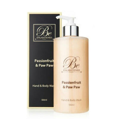 New Passionfruit & Paw Paw Hand & Body Wash by Be Enlightened 500ml