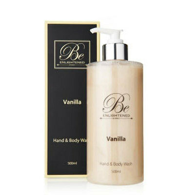 New Vanilla Hand & Body Wash by Be Enlightened 500ml