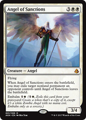 1x Angel of Sanctions - MTG - Amonkhet - NM