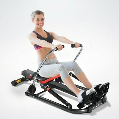 Home Exercise Genki Hydraulic Rowing Fitness Machine Gym Rower Abdominal