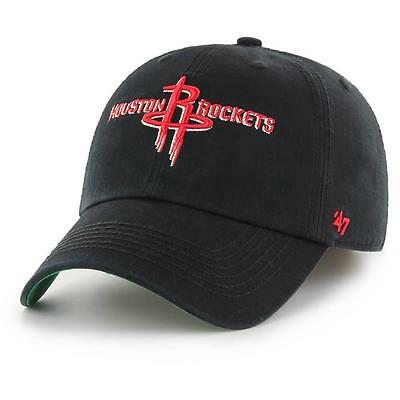 Houston Rockets NBA Supporters Hat Franchise Cap In Black- 47 Brand Baseball Cap