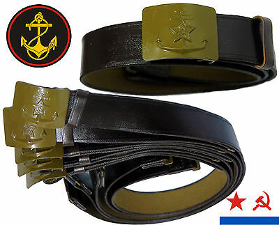 RARE Original Soviet Field Uniform Belt Marine Corps naval infantry Surplus