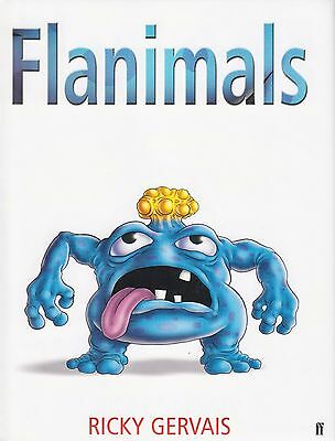 Flanimals by Ricky Gervais BRAND NEW BOOK (Hardback, 2004)