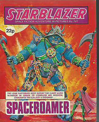 Spaceroamer,no.141,starblazer Space Fiction Adventure In Pictures,comic