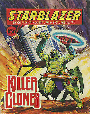 Killer Clones,no.74,starblazer Space Fiction Adventure In Pictures,comics