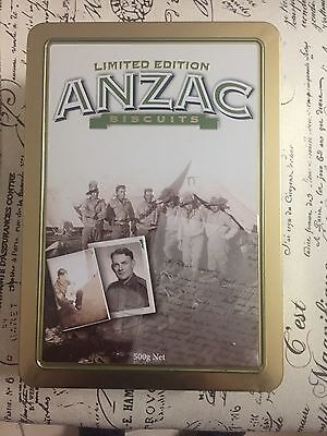 Anzac Biscuit Collectable Tin