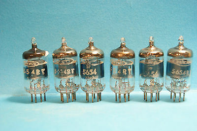 OFFERTA 6 X  5654=6AK5= 6096 RTC  made in France Tube Valve Rohe dis.10 vendite