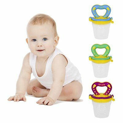 Baby Care Tools Orthodontic Pacifier Teether Nipple Feeder Soother Blue