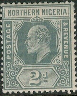 Lot 4106 - Northern Nigeria - 1910 2d grey King Edward VII Mint Hinged Stamp