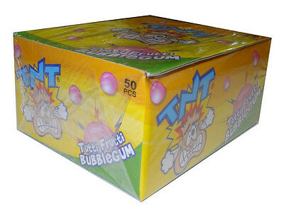 *BULK BUY* 50 x TNT BUBBLEGUM 9g - Fast & free post - Kids party lollies -