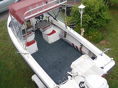 Kingfisher 18Ft Pursuit In Immaculate Condition 90Hp Evinrude Vgc