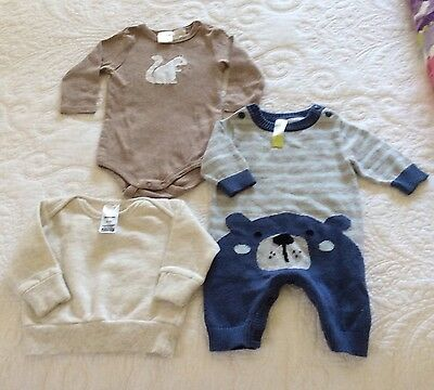 Baby boys clothes, Size 0-3 months. Seed, Bonds, Dymples.