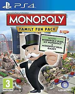 PS4 PlayStation 4 Monopoly Family Fun Pack Brand New Sealed Game