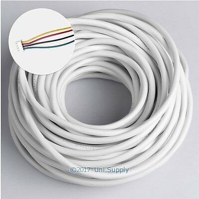 4 Core 20m 0.3mm² Flexible PVC Insulated Cable For Video Entry Security System