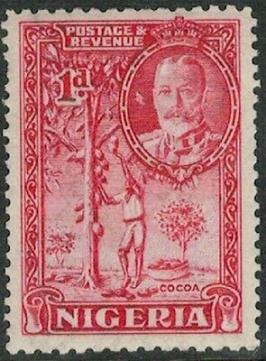 Lot 4126 - Nigeria - 1936 1d red King George V Mint Hinged Stamp