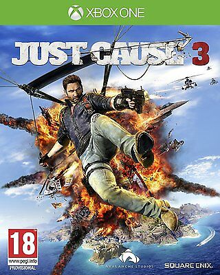 Xbox One Just Cause 3 Brand New Sealed Game