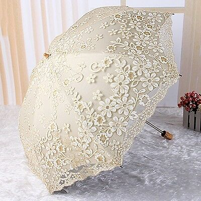 Hot Women Parasol Summer Candy Color Lady Anti-UV Umbrella 2 Folding Lightweight