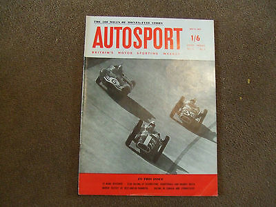 Autosport 5 July 1957 Monza 500 miles Lime Rock National Canadian Carrera