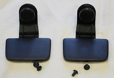 GENUINE AUDI A5 PARCEL SHELF LOAD COVER TAILGATE FIXING CLIPS REPAIR SET x2