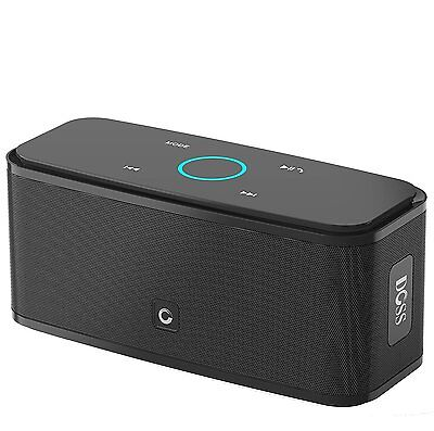 DOSS Touch Wireless Bluetooth V4.0 Portable Speaker with HD Sound and Bass (B...