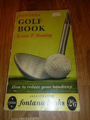 "Fontana Golf Book "" How to Improve your Handicap "" 1957"