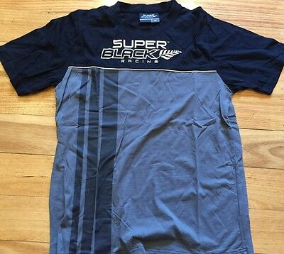 Ford Fpr Ford Racing Super Black Racing V8Supercars Mens Tshirt Tee Top Size Med